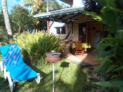 Studio terace in Deshaies Guadeloupe